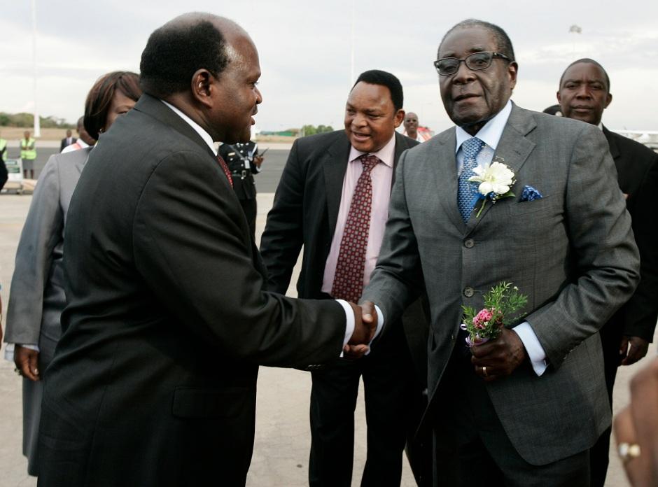 Mugabe in Malawi last year