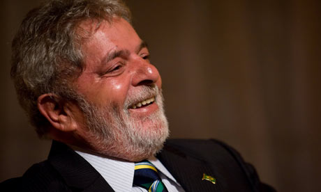Former Brazilian President da Silva