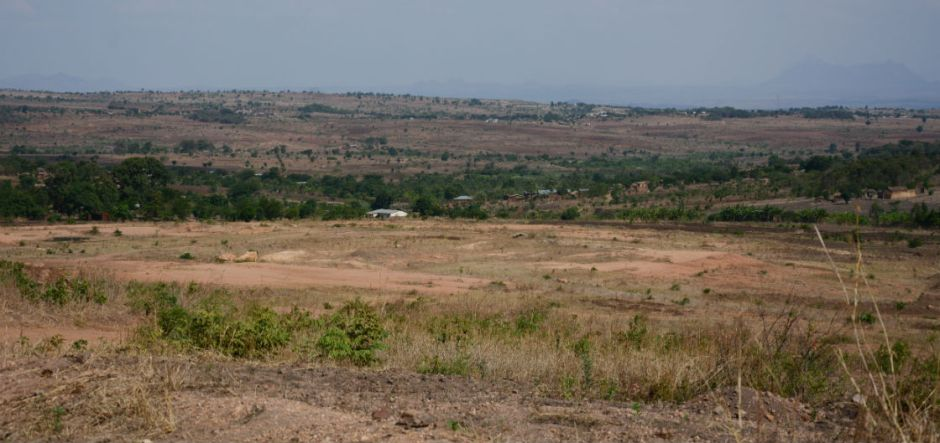 The 117 acre plot stands abandoned after the school project failed